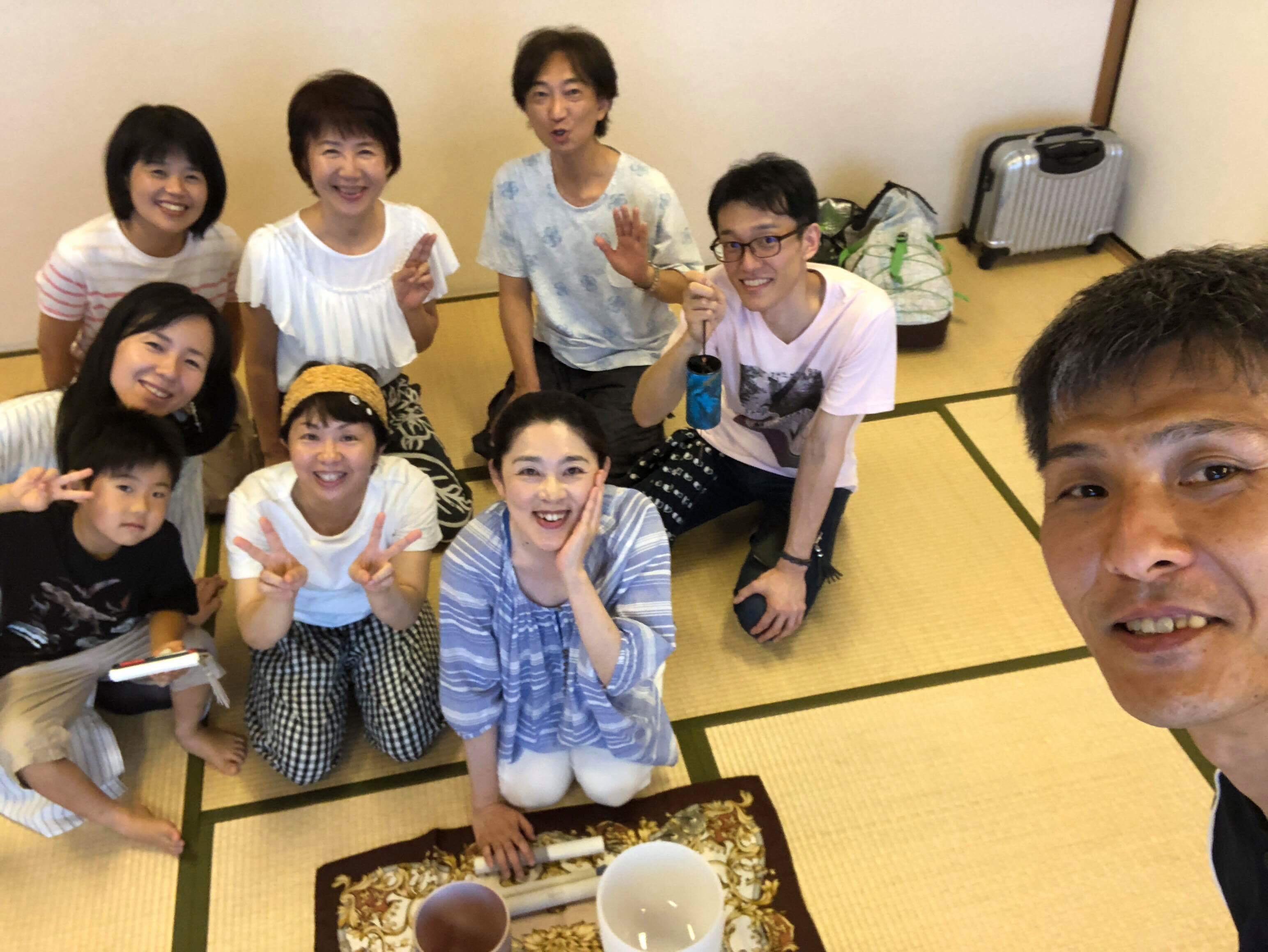 『ぽーりんぐ&クリスタルボウルの組み合わせは最高』ご感想 7月 枚方市牧野