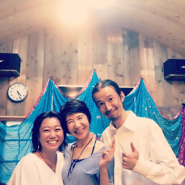 マスミ先生の、「キルタンアルバム〜光〜リリースツアー2018」のオープンニングパーティ
