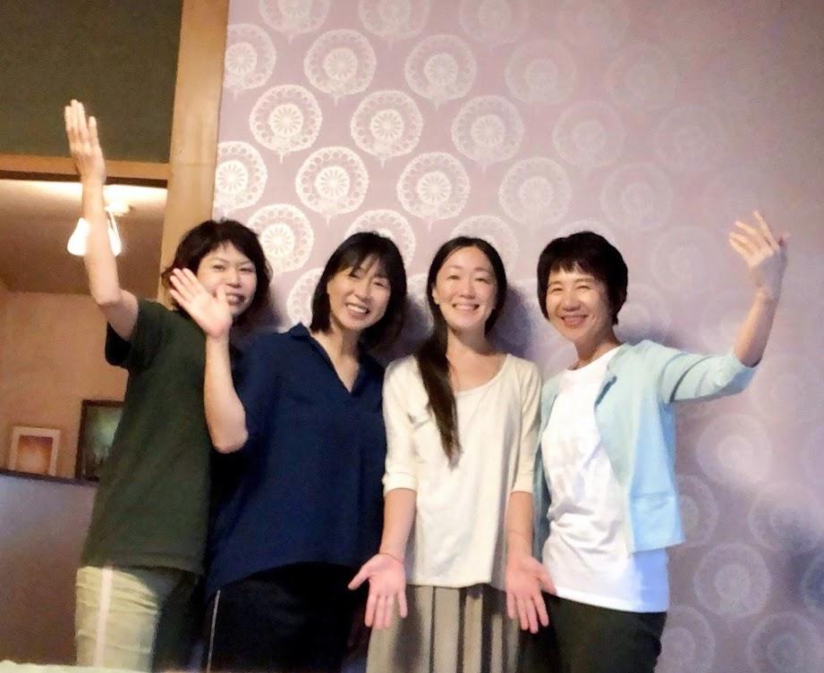さとう式リンパケア練習会 京都府 八幡市で開催しました。